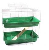 Meerschwein Käfig grün