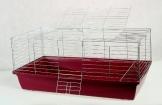 Meerschwein Käfig rot 100 cm