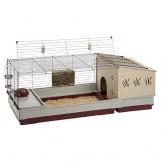 Meerschweinchen Käfig indoor mit Haus