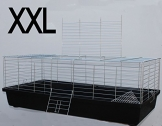 Meerschweinchen Käfig schwarz