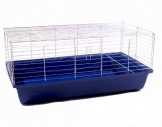 Meerschweinchenkäfig 100 x 54 blau
