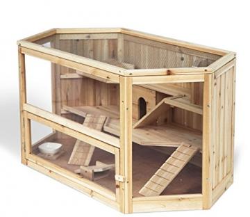 Meerschweinchenstall indoor Holz für Garten