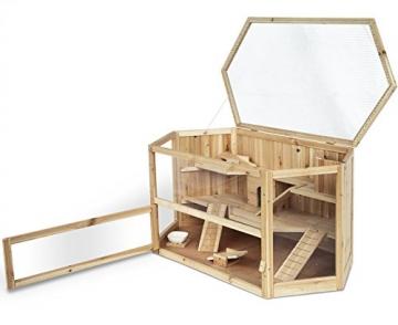 Meerschweinchenstall indoor Holz klappbar